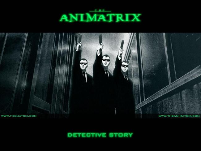 Обои к фильму Аниматрица: Детективная история / A Detective Sto